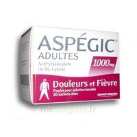 ASPEGIC ADULTES 1000 mg, poudre pour solution buvable en sachet-dose 20 à Cenon