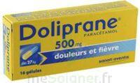 DOLIPRANE 500 mg Gélules B/16 à Cenon