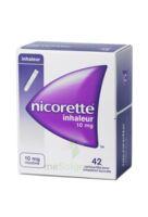 NICORETTE INHALEUR 10 mg Cartouche p inh bucc inhalation buccale B/42 à Cenon