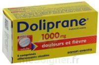 DOLIPRANE 1000 mg Comprimés effervescents sécables T/8 à Cenon