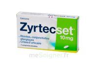 ZYRTECSET 10 mg, comprimé pelliculé sécable à Cenon