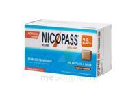 NICOPASS 2,5 mg Past réglisse menthe sans sucre Plq/96 à Cenon