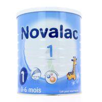 NOVALAC LAIT 1 , 0-6 mois BOITE 800G à Cenon