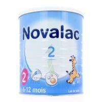 NOVALAC LAIT 2, 6-12 mois BOITE 800G à Cenon