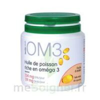 OM3 HUILE DE POISSON RICHE EN OMEGA 3, pilulier 120 à Cenon