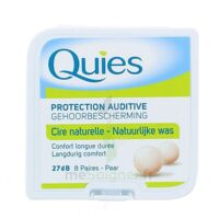 QUIES PROTECTION AUDITIVE CIRE NATURELLE 8 PAIRES à Cenon