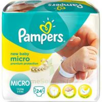PAMPERS COUCHES NEW BABY MICRO 1-2,5 KG x 24 à Cenon