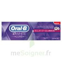 ORAL B 3D WHITE LUXE ECLAT ET GLAMOUR, tube 75 ml à Cenon