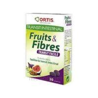 ORTIS FRUITS & FIBRES TRANSIT FACILE COMPRIME, bt 30 à Cenon