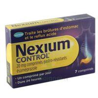 NEXIUM CONTROL 20 mg Cpr gastro-rés Plq/7 à Cenon