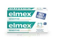 ELMEX SENSITIVE DENTIFRICE, tube 75 ml, pack 2 à Cenon
