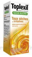TOPLEXIL 0,33 mg/ml sans sucre solution buvable 150ml à Cenon