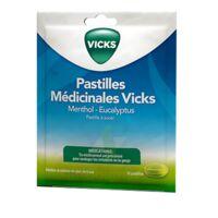 PASTILLES MEDICINALES VICKS Past à sucer menthol eucalyptus Sach/18 à Cenon