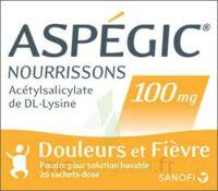 ASPEGIC NOURRISSONS 100 mg, poudre pour solution buvable en sachet-dose à Cenon
