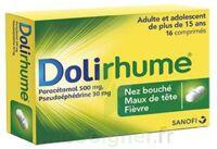 DOLIRHUME PARACETAMOL ET PSEUDOEPHEDRINE 500 mg/30 mg, comprimé à Cenon
