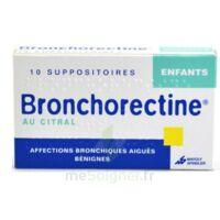 BRONCHORECTINE AU CITRAL ENFANTS, suppositoire à Cenon