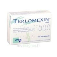 TERLOMEXIN 200 mg, capsule molle vaginale à Cenon