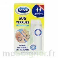 Scholl SOS Verrues traitement pieds et mains à Cenon