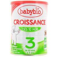 BABYBIO CROISSANCE 3, bt 900 g à Cenon