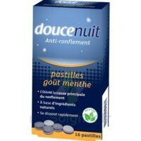 DOUCENUIT ANTIRONFLEMENT PASTILLES à la menthe, bt 16 à Cenon
