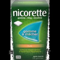NICORETTE 2 mg Gom à mâcher médic sans sucre fruits Plq/30 à Cenon