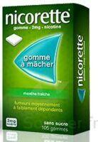 NICORETTE 2 mg Gom à mâcher médic sans sucre menthe fraîche Plq/30gom à Cenon