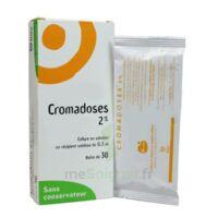 CROMADOSES 2 POUR CENT, collyre en solution en récipient unidose à Cenon