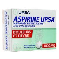 ASPIRINE UPSA TAMPONNEE EFFERVESCENTE 1000 mg, comprimé effervescent à Cenon
