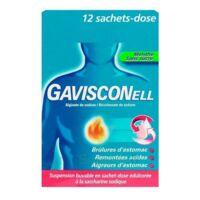 GAVISCONELL Suspension buvable sachet-dose menthe sans sucre 12Sach/10ml à Cenon