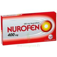 NUROFEN 400 mg Comprimés enrobés Plq/12 à Cenon